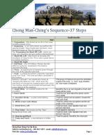 Cheng Man-Ching 37 Tai Chi Form