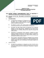 A32-001 Reglamento de Recepción y Despacho de Naves