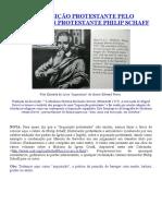 A Inquisição Protestante Pelo Historiador Protestante Philip Schaff
