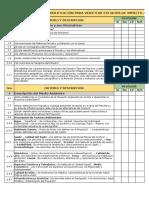 Checklist de Evaluación de Un EIA