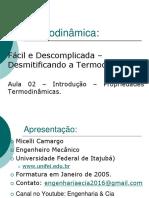 #2 Título e Volume Específico - Propriedades Termodinâmica