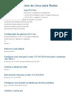 Comandos Básicos Do Linux Para Redes __ Ti - Redes