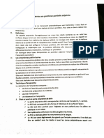 Les Empreintes en Proth_se Partielle Adjointe (1)
