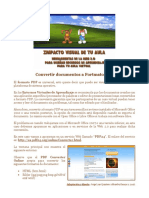 Convertir a Formato PDF