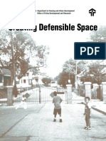 Creating Defensible Space, By Oscar Newman of Institute for Community Design Analysis