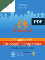 Pesquisa em Educação Comparada