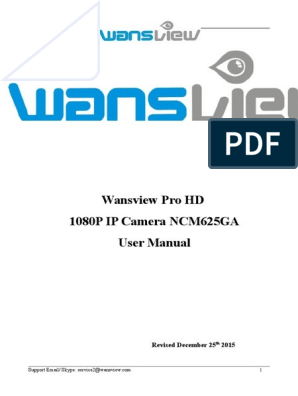 User Manual wansview | File Transfer Protocol | Wi Fi