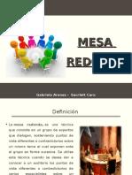 189001578 Mesa Redonda Ppt