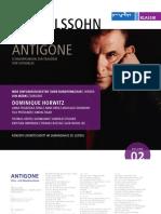Libretto Antigone