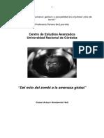 Del Mito Zombie a La Amenza Global Cesar Heil