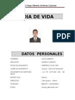 Hoja de Vida Hugo Jimenez