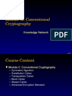 M03 Conventional Cryptography