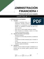 Administracion Financiera I - Primera Parte Del Curso Completo