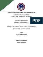 Informe Fisica Vectores Propio