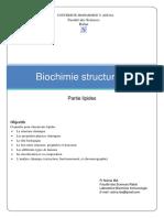Biochimie Structurale-Lipide