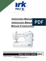 Europro 1902 Instruction Manual