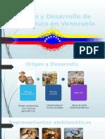 Origen y Desarrollo de La Pintura en Venezuela