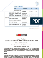 Centro Cultural27052015