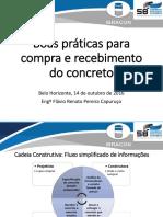 Flavio Renato Boas Práticas para compra e recebimento do concreto