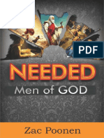 Needed - Men of God