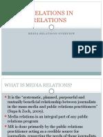 Media Relations Overview-miss Kuranchie