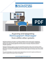 NetSupport Manager-Integrating With Other Systems
