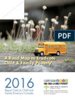 Campaign 2000 - National Report Card 2016 - A  Road Map to Eradicate Child & Family Poverty