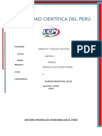 Laboral (Sistema Privado de Pensiones en El Perú).