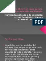 Software libre y en línea para la creación.pptx