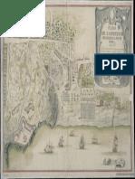 Miguel Castaña Piano Dellaccampamento Di Artiglieria Del Real Sito Di Portici e Posizione Della Flotta Nella Baia 17341