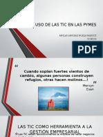 Uso de Las Tic en Las Pymes