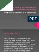 Software Libre y en Línea Para La Creación