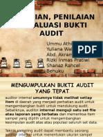 Chapter 9-Pengujian Penilaian Dan Evaluasi Bukti Audit