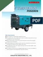 Air Compressor Airman Pds390s