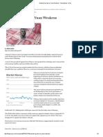Markets Gyrate as Yuan Weakens - MoneyBeat - WSJ - China
