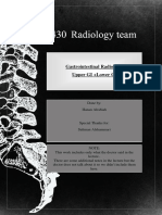 radiology of GIT