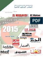 RP Annuelle 2015