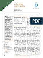 Actualización en fisiologia y farmacologia Neuromuscular