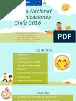 Programa Nacional de Inmunizaciones Chile 2016.pptx