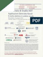 Applicazioni Elettriche Navali - Il Rischio Elettrico in Ambito Navale