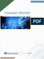 Laporan Kebijakan Moneter Triwulan IV 2015