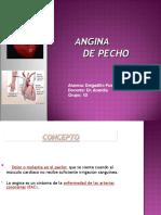 Angina de Pecho Dr. Arandia
