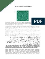 Asmaul Husna Sebagai Tawasul Dalam Berdoa