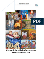Manual de Actividades Preescolar