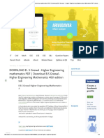 DOWNLOAD B . S Grewal - Higher Engineering Mathematics PDF _ Download B