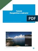 Tutorial Mengaktifasi Email Print
