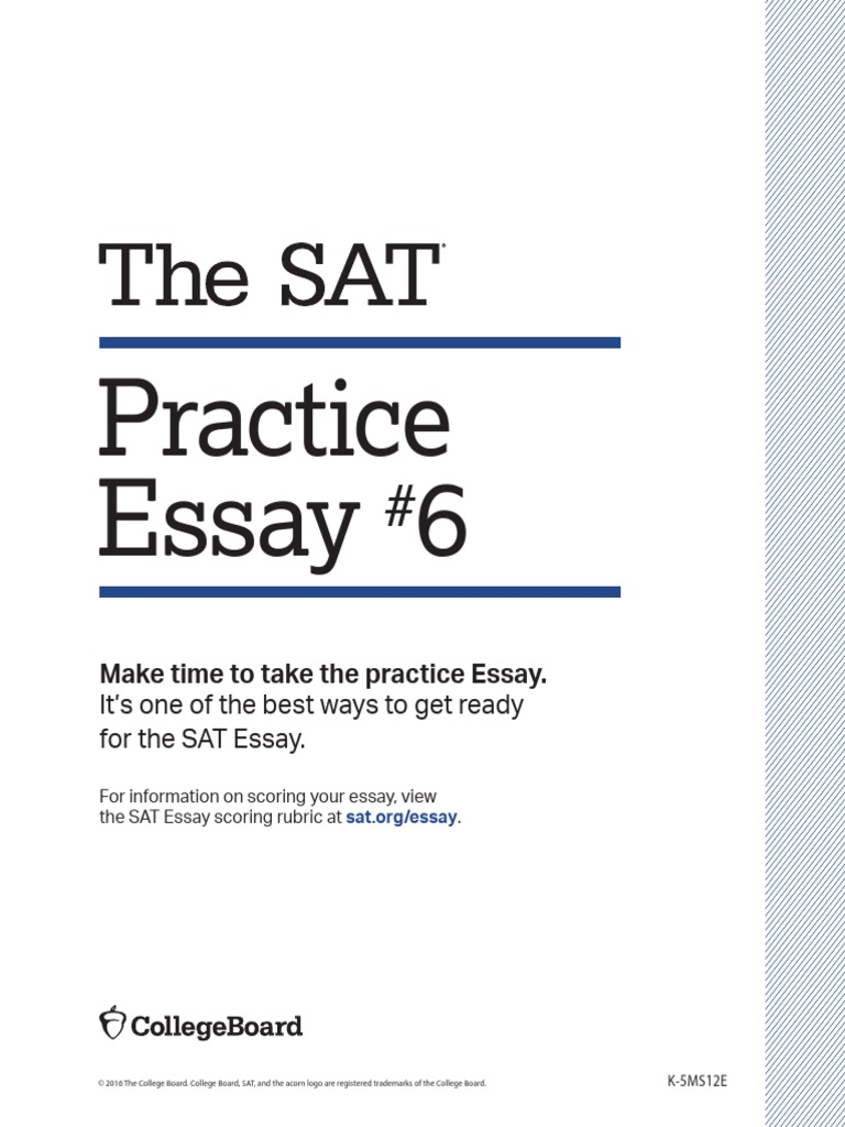 sat 6 practice essay sculpture arts general