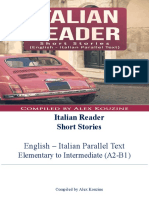 Italian Reader Short Stories