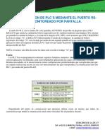 Comunicacion Serial Entre Dos PLC s