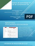 Uso de Dos Objetos de Aprendizaje